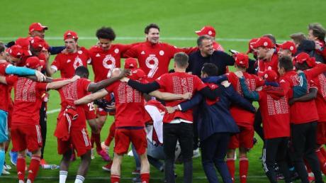 Der FC Bayern München wurde zum neunten Mal in Folge deutscher Fußball-Meister.