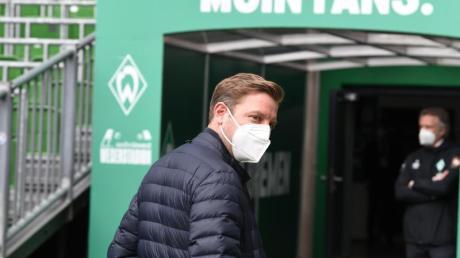 Befürworter, aber kein Freund von Quarantäne-Traingslagern: Werder-Coach Florian Kohfeldt.