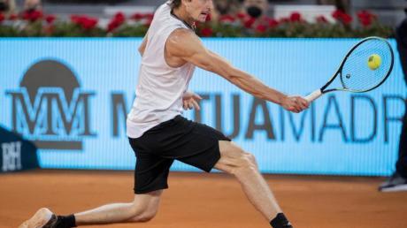 Will bei Olympia um drei Medaillen spielen: Alexander Zverev.