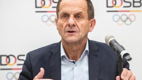 DOSB-Präsident Alfons Hörmann steht schwer in der Kritik.