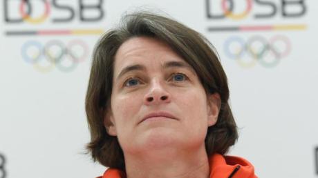 Verspricht Aufklärung beim DOSB: Vorstandschefin Veronika Rücker.
