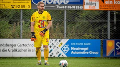 Torhüter Patrick Rösch gehört nicht mehr zum Kader des TSV Landsberg.