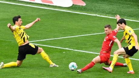 Begegnung zwischen Borussia Dortmund und RB Leipzig am 32. Spieltag im Signal Iduna Park.