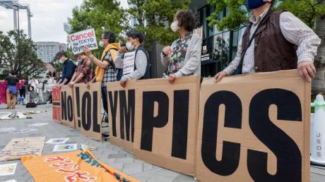 Der Protest gegen Olympia in Tokio nimmt immer mehr zu.
