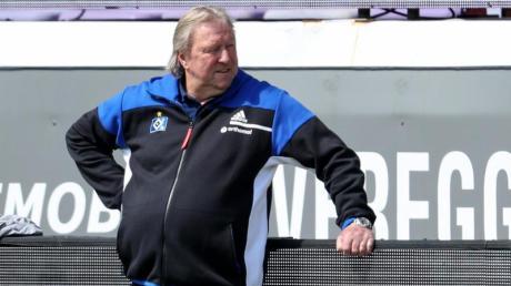 Horst Hrubesch und der HSV vergaben in Osnabrück die letzte Aufstiegschance.