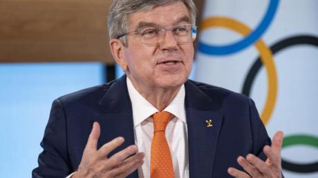 IOC-Präsident Thomas Bach war der Vorgänger von Alfons Hörmann beim DOSB.