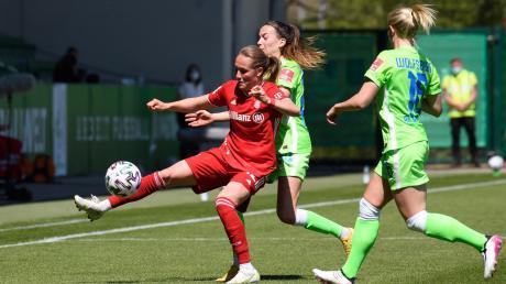 Sydney Lohmann hat für die Damen des FC Bayern München mit ihrem Treffer im Spiel gegen Wolfsburg das Tor zur Meisterschaft weit aufgestoßen.