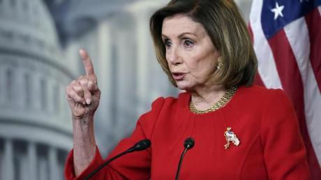 Nancy Pelosi ist die Vorsitzende des US-Repräsentantenhauses.