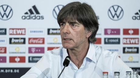 Nimmt sein letztes Turnier als Bundestrainer in Angriff:Bundestrainer Joachim Löw.