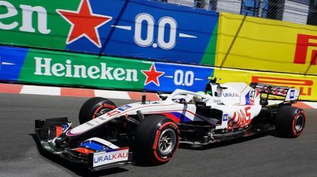 Leistete sich in Monaco einen Crash: Mick Schumacher.
