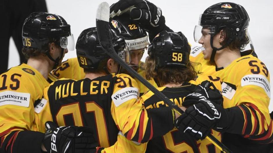 Deutschland startete bei der Eishockey-Weltmeisterschaft in Gruppe B.
