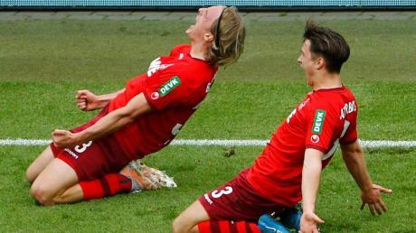 Die Chancen des 1. FC Köln in der Relegation stehen laut Statistik gut.