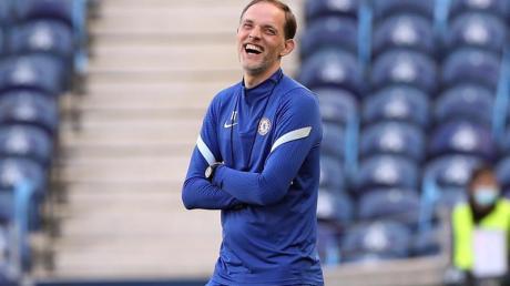 Will in seinem zweiten Königsklassen-Endspiel diesmal der lachende Sieger sein: Chelsea-Coach Thomas Tuchel.