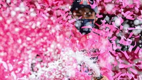 Dem Kolumbianer Egan Bernal ist der Gesamtsieg beim Giro kaum mehr zu nehmen.