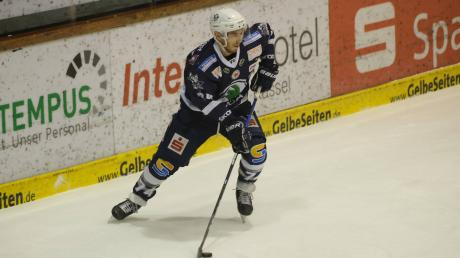 Der Stürmer Vinny Saponari spielt in der kommenden Saison für die Augsburger Panther.
