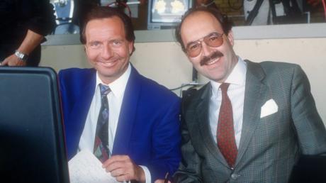 Gerd Rubenbauer und Fritz von Thurn und Taxis auf diesem Bild aus dem Jahr 1992.