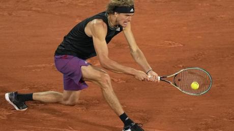 Alexander Zverev hat sich bei den French Open kontinuierlich gesteigert. Jetzt will er ins Halbfinale von Paris.