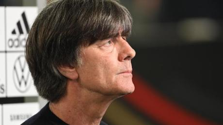 Blickt der EM optimistisch entgegen: Bundestrainer Joachim Löw.