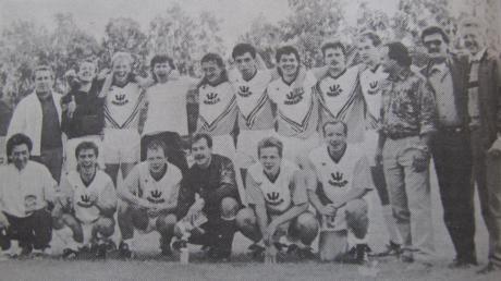 Über die Relegation gelang den Fußballern der SSV Dillingen vor drei Jahrzehnten der Aufstieg in die Bezirksoberliga.