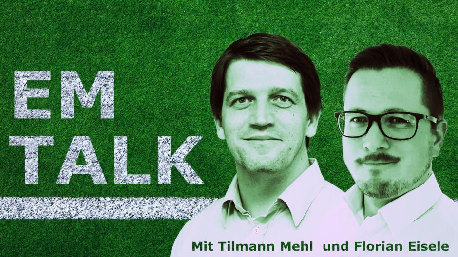 Zur Fußball-EM sprechen unsere beiden Reporter Tilmann Mehl und Florian Eisele im EM-Talk über die Lage der Nationalmannschaft und allgemeine Themen rund um das Turnier.