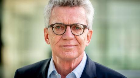 Thomas de Maizière (CDU), Vorsitzender der Ethikkommission.