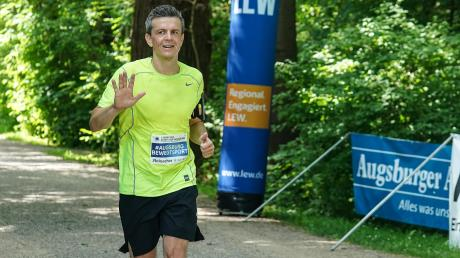 Erik Markert war einer der fast 300 Läufer beim virtuellen Stadtlauf.