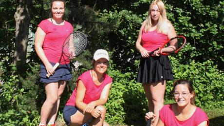 Die Damen der DJK Stotzard (von links) Maria Hosemann, Andrea Lichtenstern, Jenny Braun und Brigitte Mezger.