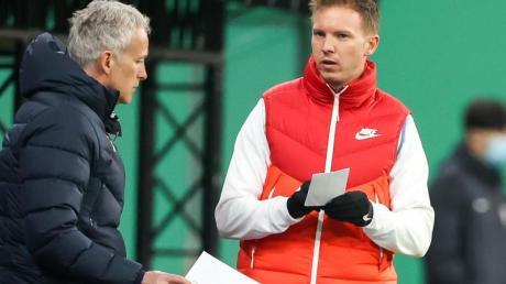 Kommt mit Julian Nagelsmann (r) nach München: Assistenztrainer Xaver Zembrod.