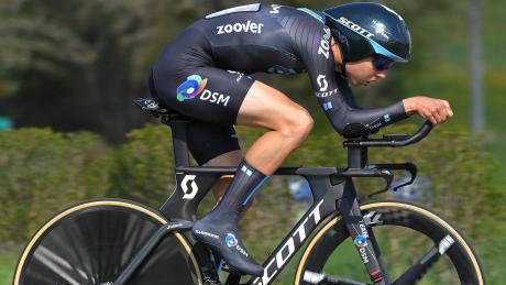 Marco Brenner startet bei den deutschen Meisterschaften in Stuttgart sowohl im Einzelzeitfahren als auch im Straßenrennen.