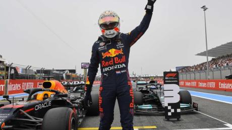Max Verstappen sicherte sich in Le Castellet die Pole Position.