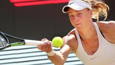 Hat überraschend das Turnier in Berlin gewonnen: Ludmilla Samsonowa in Aktion.