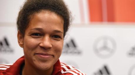 Die 111-fache Nationalspielerin Célia Sasic.