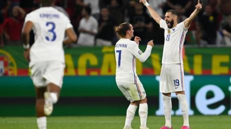 Karim Benzema hat die Herzen der französischen Fans zurückerobert.