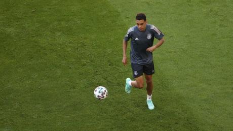 Jamal Musiala tritt mit der DFB-Elf gegen seine zweite Heimat England an.