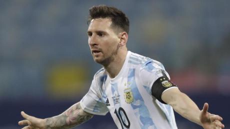 Steht mit Argentinien im Halbfinale der Copa América.