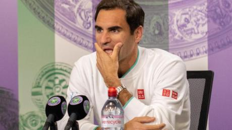 Muss das Aus in Wimbledon erst einmal sacken lassen:Roger Federer.
