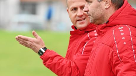 Jürgen Fuchs und Dominik Beutel treten in der kommenden Saison sowohl mit dem CSC Batzenhofen-Hirblingen I als auch dem CSC Batzenhofen-Hirblingen II in der A-Klasse an.