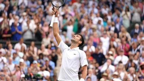 Will in Wimbledon seinen 20. Grand-Slam-Titel holen: Novak Djokovic.