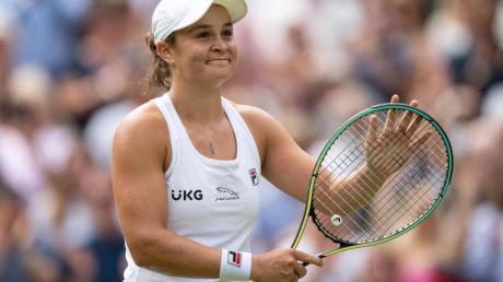 Ashleigh Barty hat fünf der bisherigen sieben Duelle gegen Finalgegnerin Pliskova gewonnen.