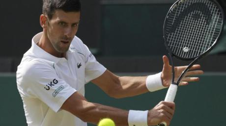 Im Wimbledon-Finale der Herren trifft der Serbe Novak Djokovic auf den Italiener Matteo Berrettini.