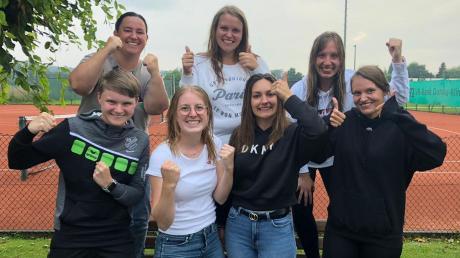 Es gab auch Anlass zur Freude in der Tennis-Abteilung des TSV Offingen: Die Damen II feierten in der Kreisklasse 1 ihren ersten Saisonerfolg: 6:3 endete das Spiel gegen den TC Kettershausen.