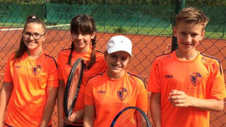 Souverän Meister: Die Bambini um (von links) Raluca Burla, Ewa Krzyzanowski, Dilyana Vicheva und Lukas Geier.