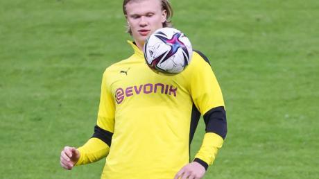 Auch BVB-Stürmer Erling Haaland wird umworben.