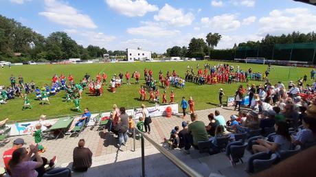 Volles Programm: Der Jugendfußball stand an zwei Wochenenden in Rohrenfels im Mittelpunkt.