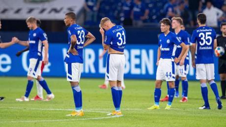 Der FCSchalke 04 unterlag dem HSV mit 1:3.