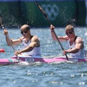 Max Hoff (l) und Jacob Schopf haben im olympischen Finale Silber geholt. Wer holt bei der Kanu-WM 2021 in Kopenhagen Medaillen? Zeitplan und Übertragung der Rennen im Free-TV oder Live-Stream finden Sie hier.