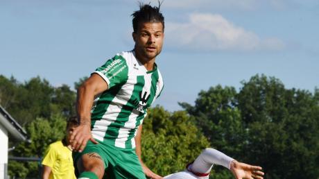 Große Sprünge will Außenverteidiger Simon Hille  mit dem FC Gundelfingen im Heimspiel gegen Bayernliga-Spitzenreiter Türkspor Augsburg machen.