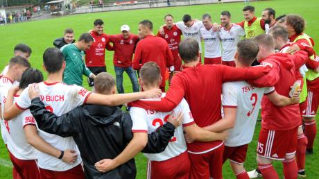 Beim TSV Buch wird ausgesprochen gerne gefeiert. Einen Heimsieg gegen Geislingen gab es indes noch nie.