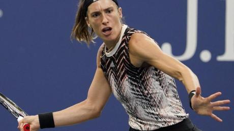Andrea Petkovic schied in New York aus.