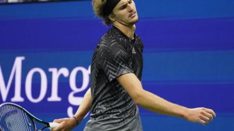 Alexander Zverev verpasste bei den USOpen den Finaleinzug.